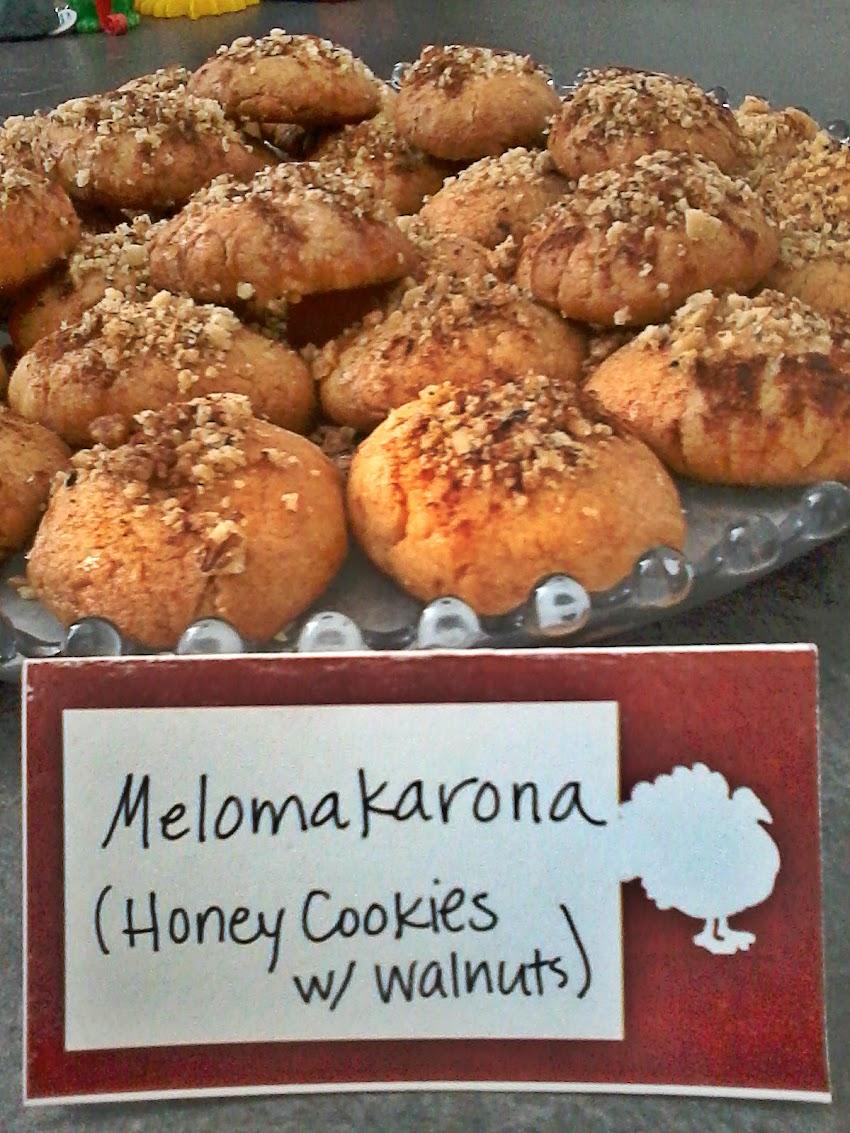 Melomakarona - Recipe