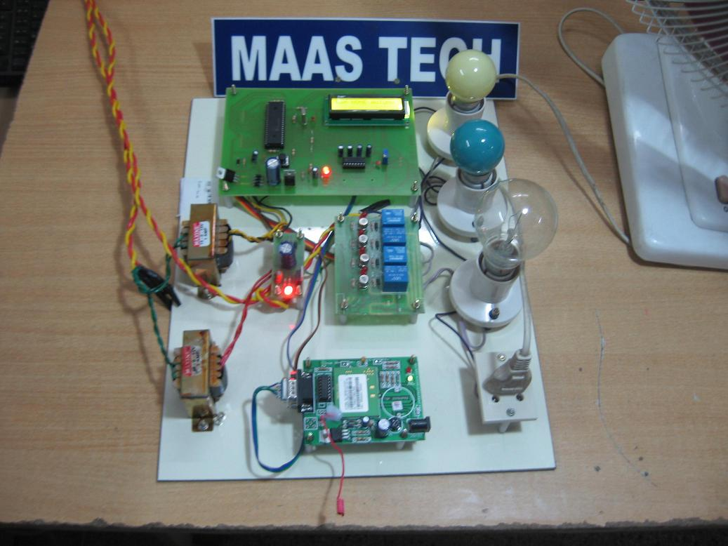 Embeddedieeeprojects2013 Gsm Based Advanced Home Automation Systems Dtmf Project With Circuit Diagram