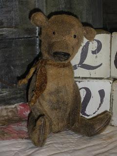 Teddy Bears  Sale on Teddy Bears And Raggedies  Handmade Ooak Grubby Teddy Bears For Sale