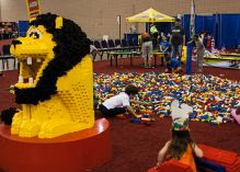 Big Brick Pile at the LEGO Creativity Tour - Win Tickets for Des Moines, Iowa stop!