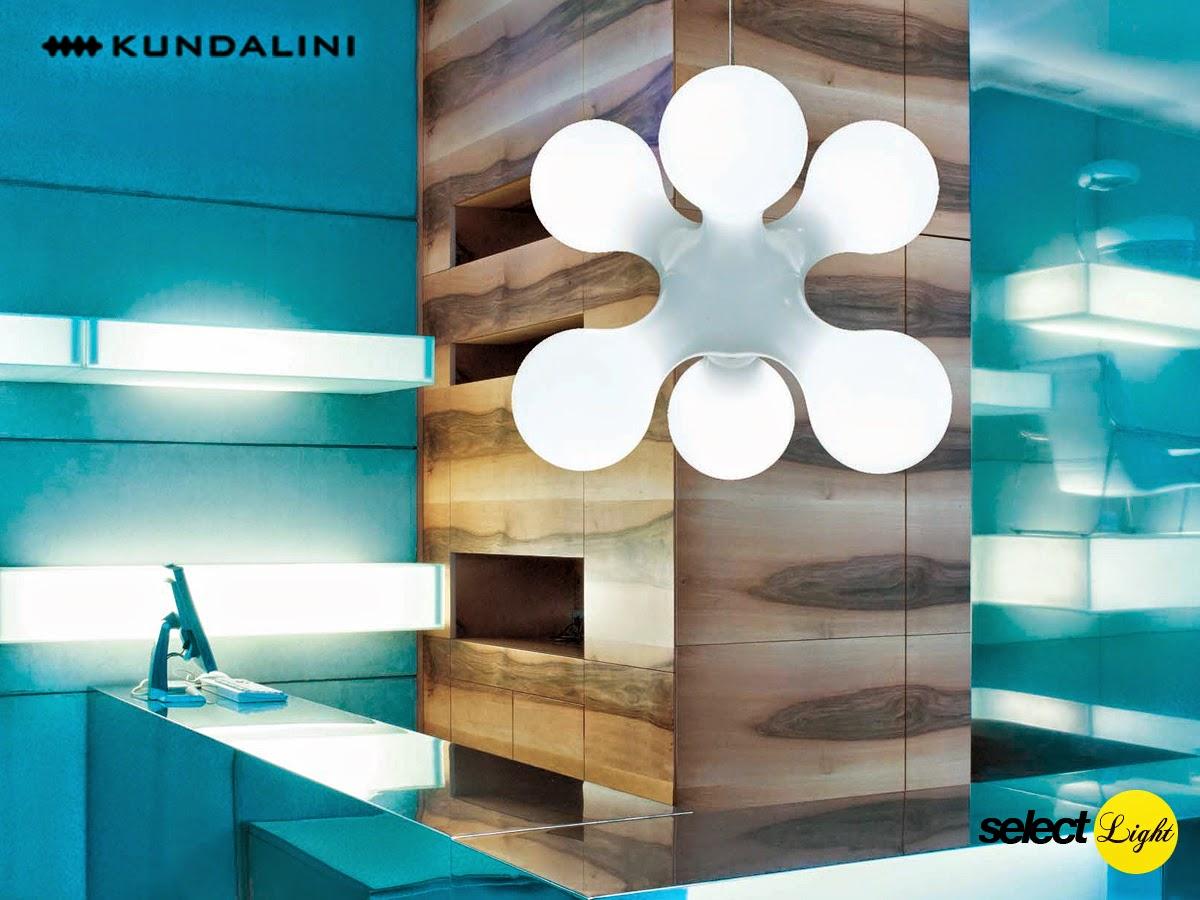 Pendant lamp Atomium by Kundalini