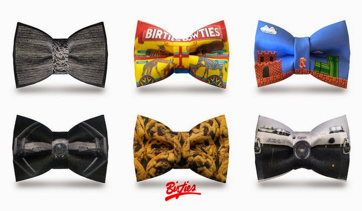 Creatively Designed Birties Bow Ties Spicytec