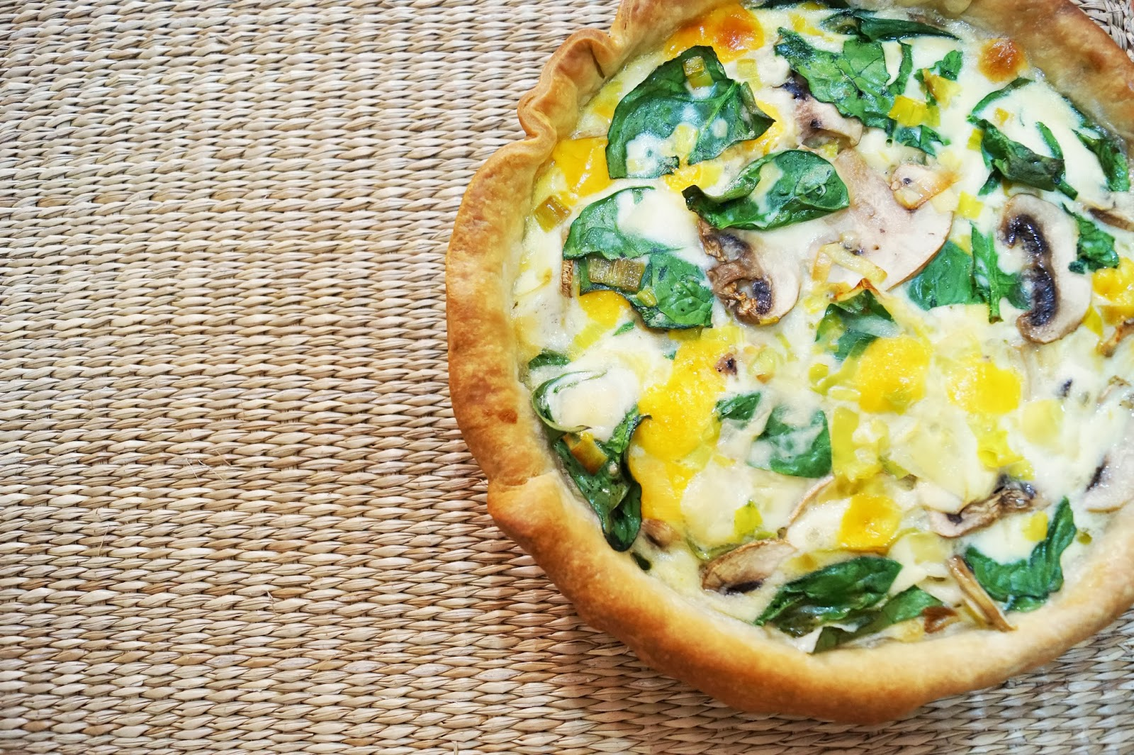 Quiche de verduras sanwichita for Comida rapida y calentita