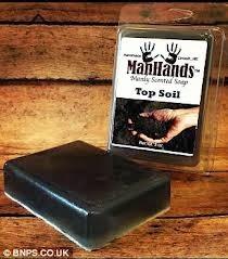 sabun aroma tanah