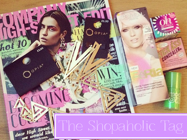 The Shopaholic Tag