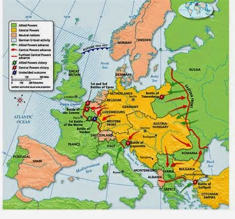 the outbreak of war in europe in 1914 was due to an aggressive german foreign policy which had been