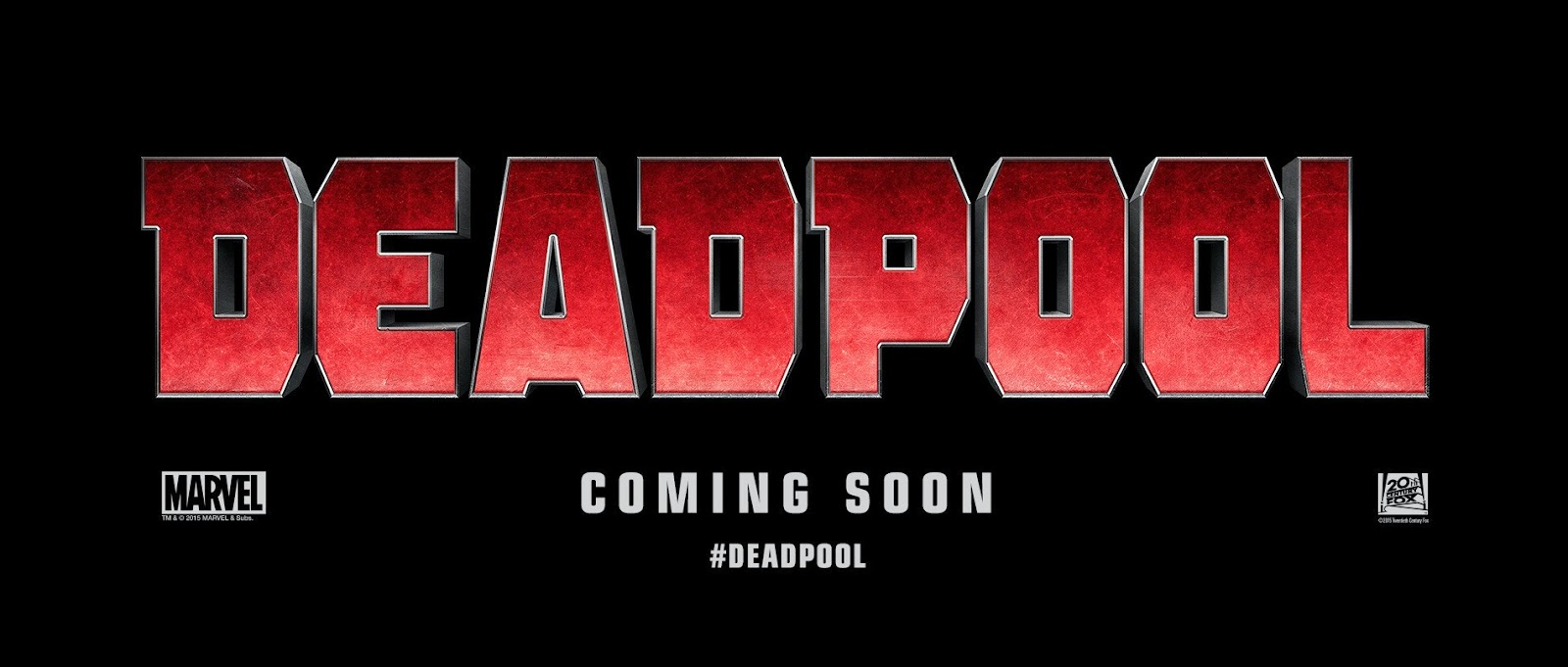 Deadpool First Look: Deadpool Title Card