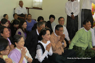 Daw Suu and U Shwe Mahn