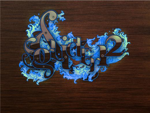 Futuristic design bundle over fonts and design elements
