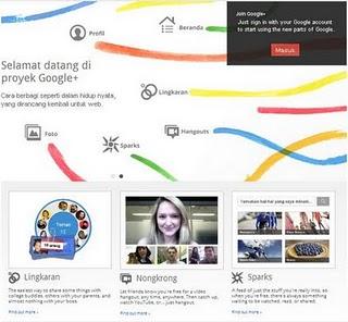 Cara Daftar Google Plus