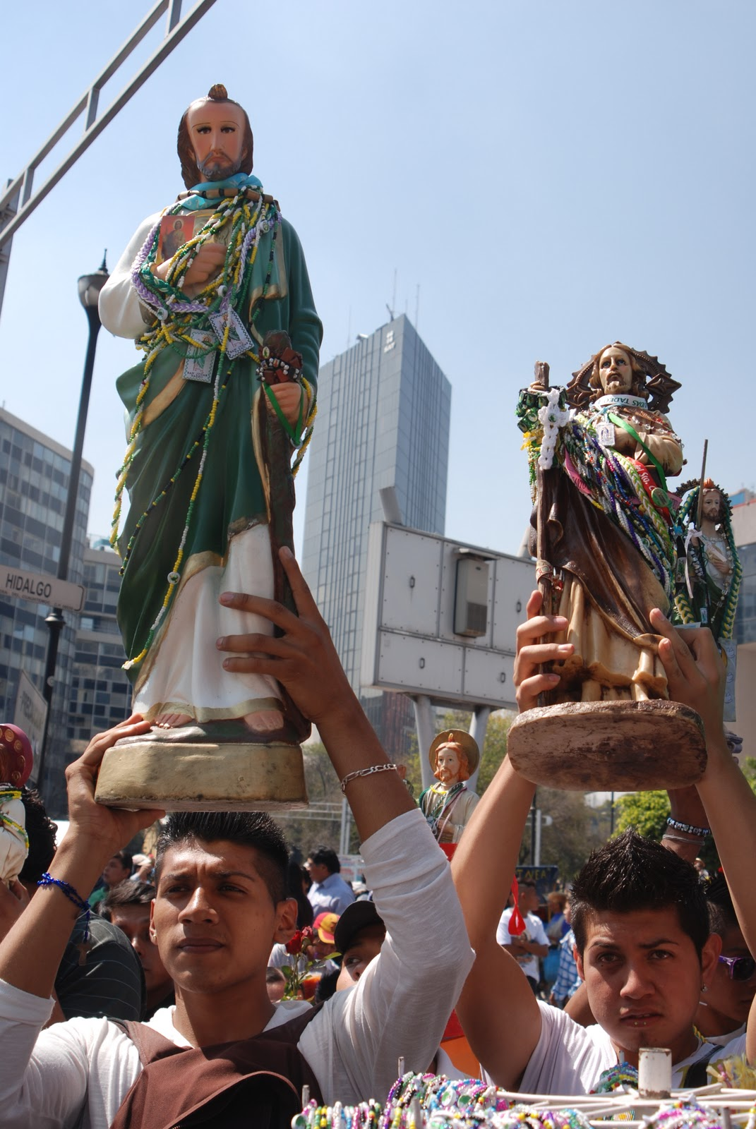 San Judas Statue