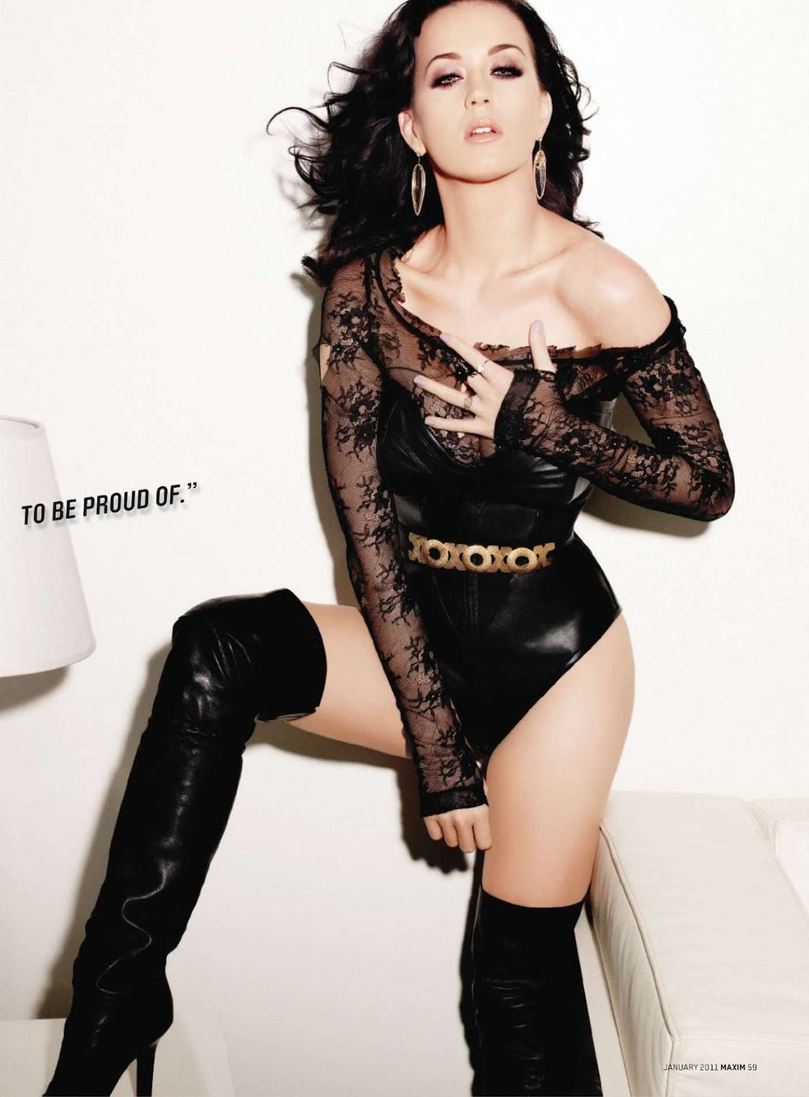 Celebrity Modeling Katy Perry Pictures In Maxim 2012
