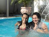 JÔ e a filha Jamila num dia de sol!