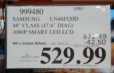 Deal for the Samsung UN48J520DAFXZA 48
