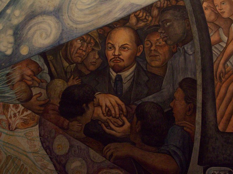 Wmtc history repeats itself as toronto censors subversive for Diego rivera mural at rockefeller center