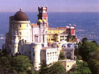 Palacio da Pena de Sintra en Lisboa