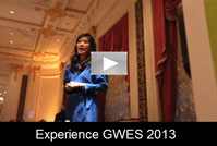 Experience GWES 2013