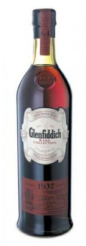 photos of 1937 glenfiddich scotch whisky
