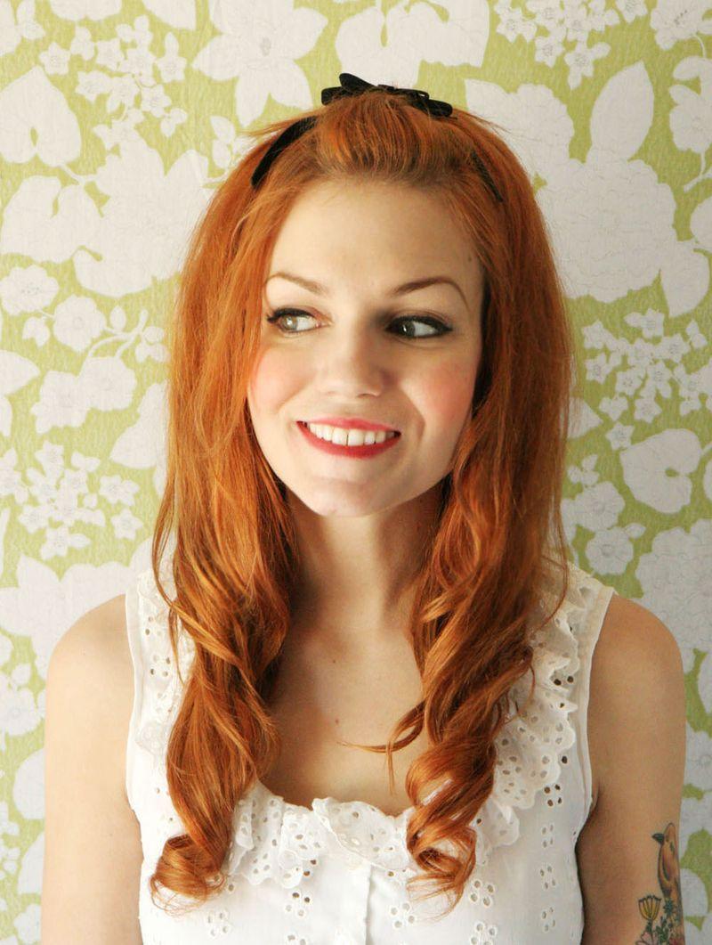 Genç kızlar için maşalı şirin saç modeli yapılışı resimli