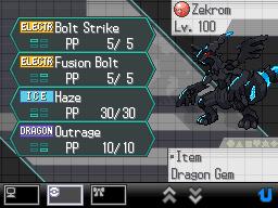 Distribuição de Reshiram e Zekrom em Pokémon Black & White (DS) termina hoje; já garantiu o seu? Zekrom+evento+2012