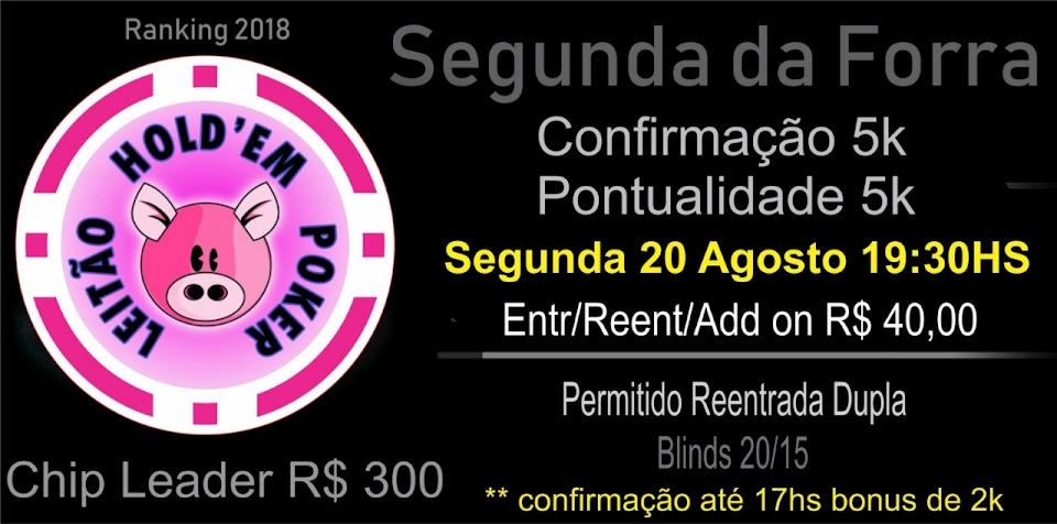 SEGUNDA DA FORRA