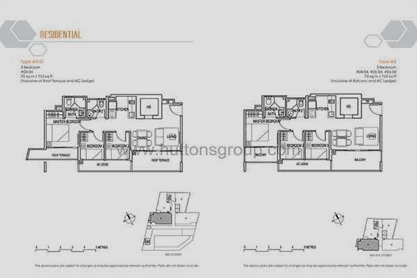 Ascent @ 456 Residential Floor Plan