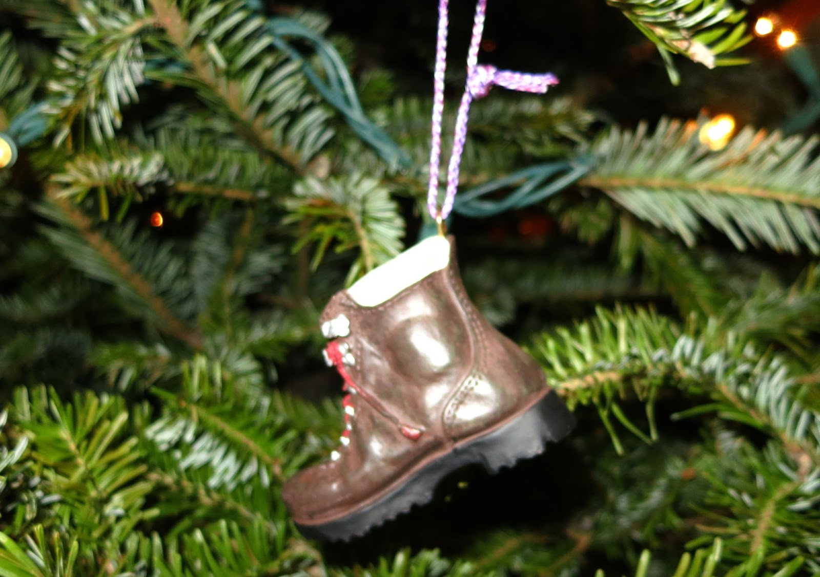 Rock climbing christmas ornaments -  E G A Rock Climbing Shoe A Backpack A Snowshoe A Kayak