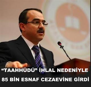 Adalet Bakanı Sadullah Ergin. Alim Işık Taahhüdü ihlal Yazılı soru. Tazyik Hapsi. İcra iflas kanunu tazyik hapsi taahhüdü ihlal hapis cezası
