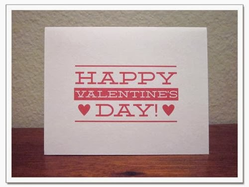 Best Printable Happy Valentine's Day Cards 2014