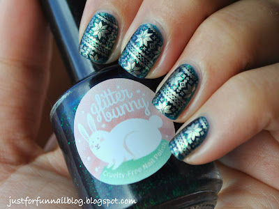 Christmas Design : GlitterBunny - Unda the sea with W120
