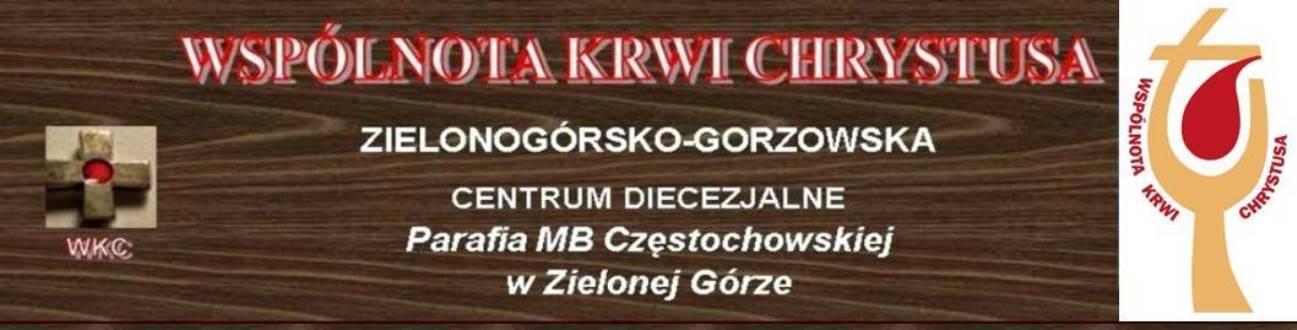 Wspólnota Krwi Chrystusa - Zielonogórsko-Gorz.