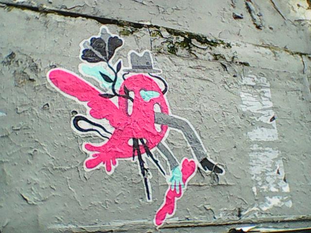 surealist grafity in paris [20 th]