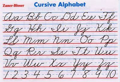 Irresistible image intended for free printable cursive alphabet