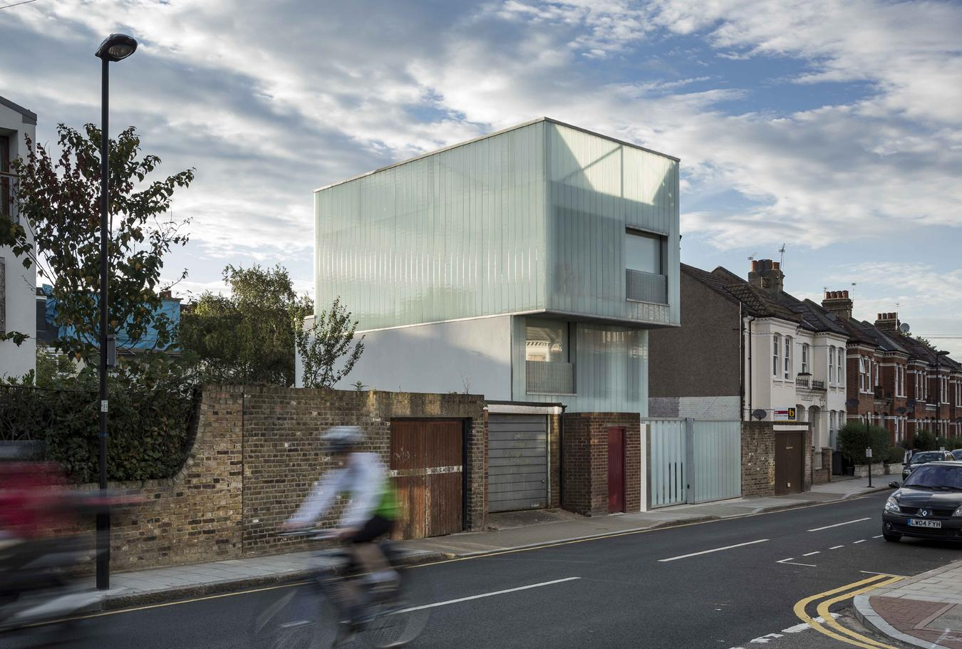 A f a s i a carl turner architects for Modern architecture house london