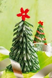 DIY, Arbol de Navidad con Pasta