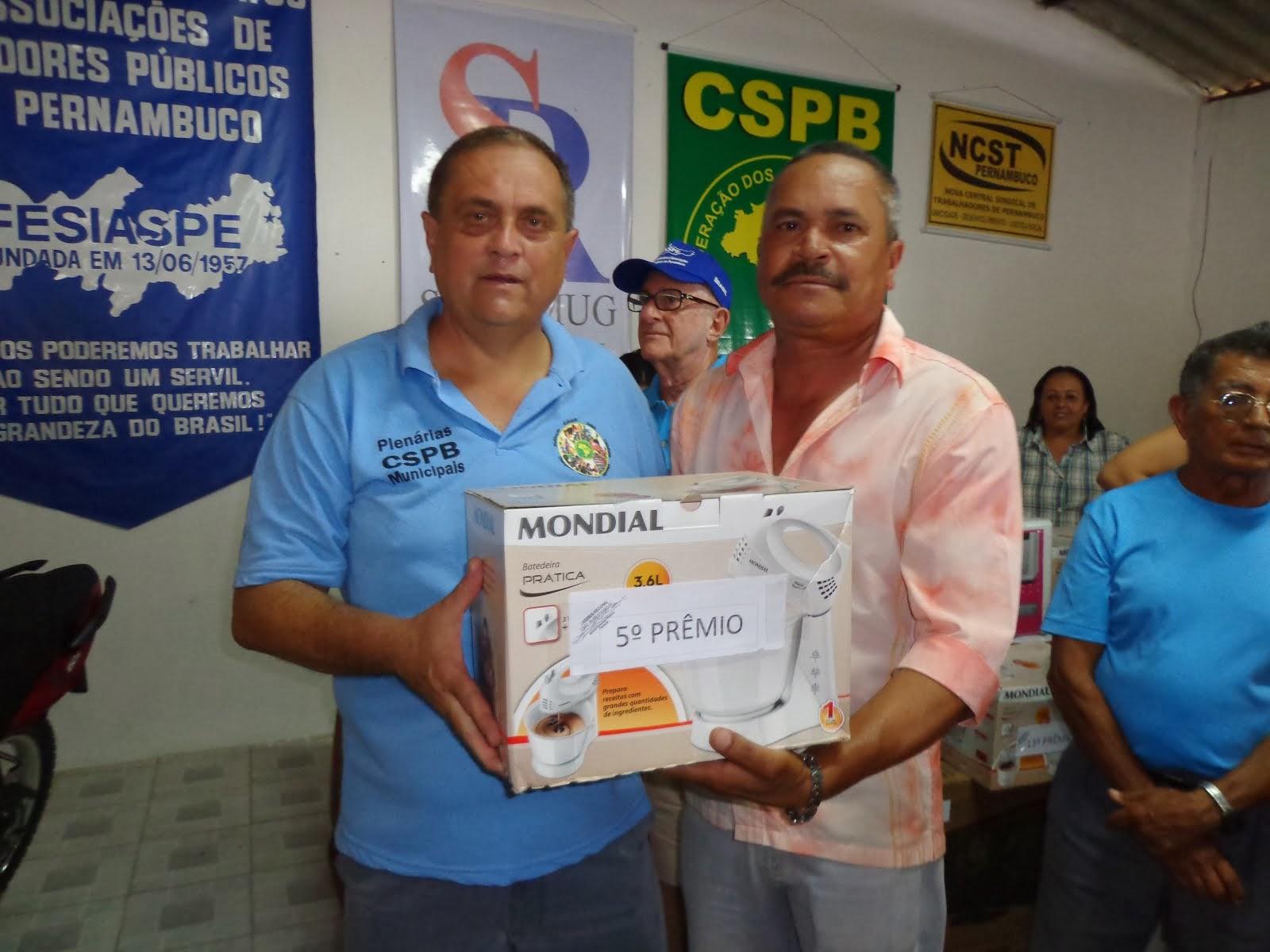 GANHADOR 5º PRÊMIO FESTA DO SERVIDO EM 2013
