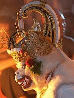 Hanoman, Kecak dance, Ulu Watu temple, Bali