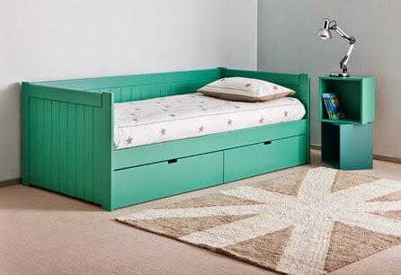 Camas con cajones juveniles for Precio de cama nido con cajones