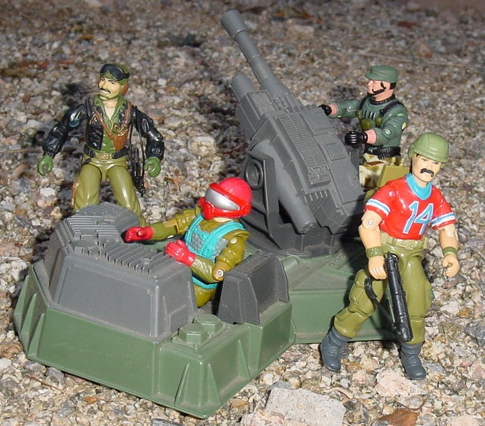 1985 Bazooka, Heavy Metal, 1987 Fast Draw, 2004 Anti Venom Lifeline
