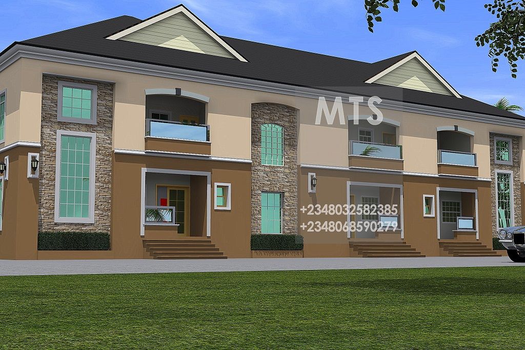 Mrs christy 3 units of 4 bedroom terrace duplex for Duplex units