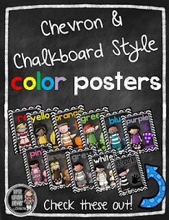 https://www.teacherspayteachers.com/Product/Chevron-Chalkboard-Style-Color-Word-Posters-1946220