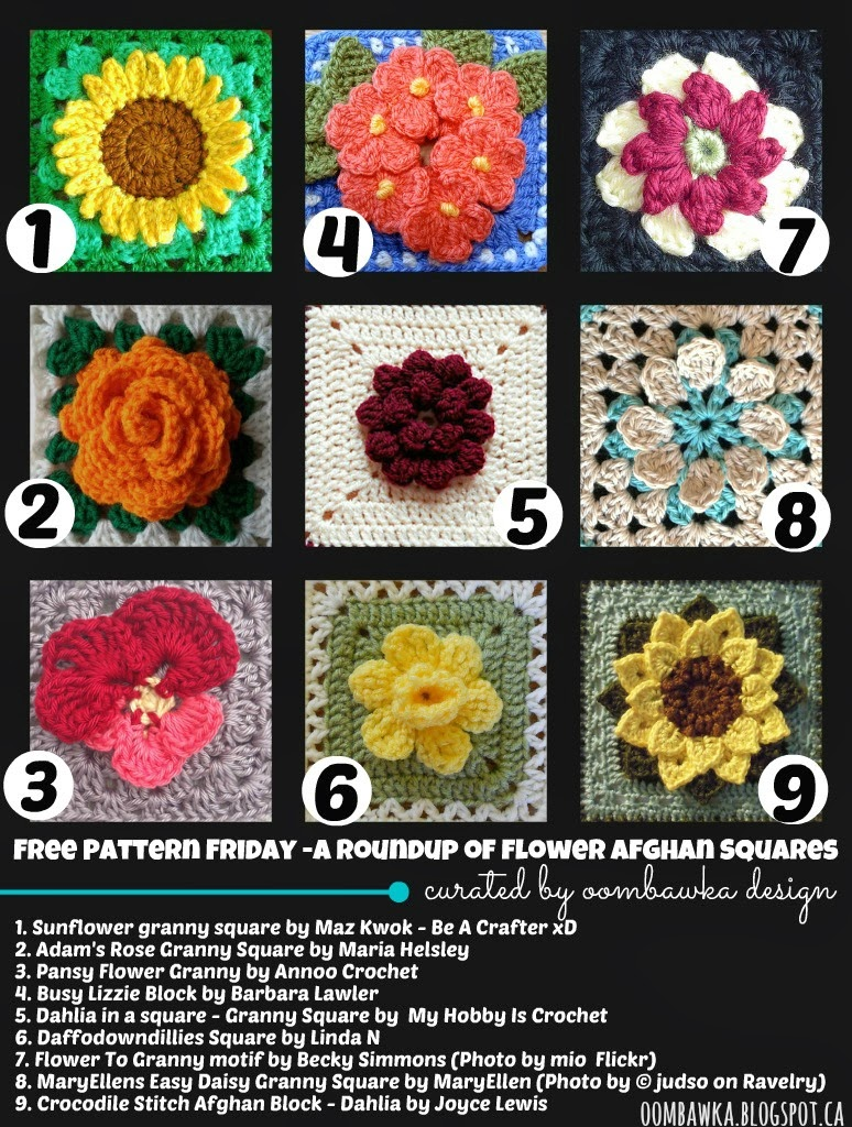 Oombawka Design *Crochet*: Free Pattern Friday - A Roundup ...
