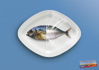 publicidad creativa, film transparente