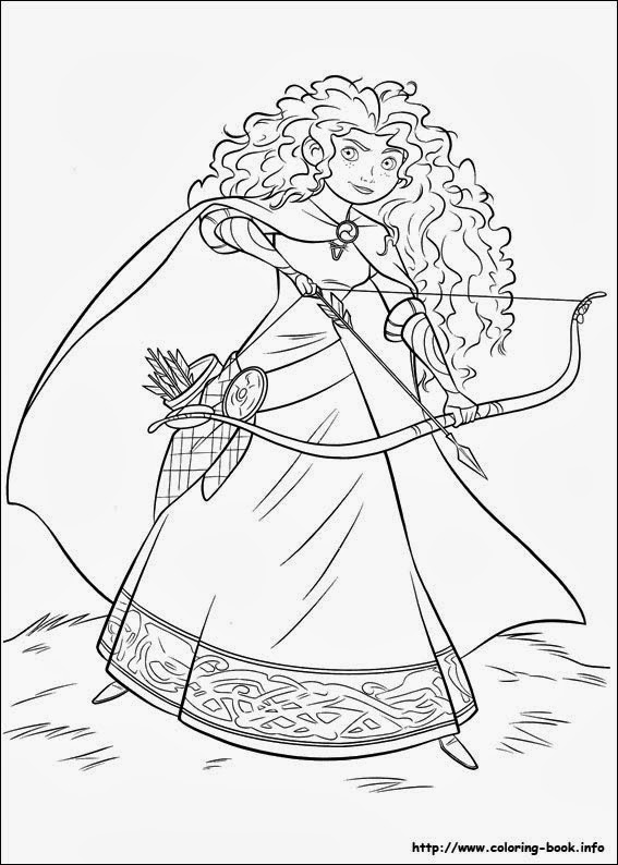 brave coloring pages - Picture To Print