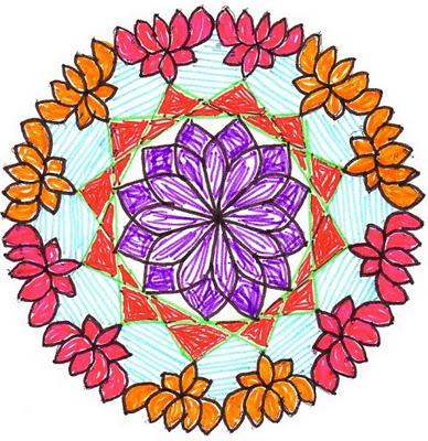 chukkala muggulu | Sankranti Muggulu | Sankranti Rangoli Designs - 9