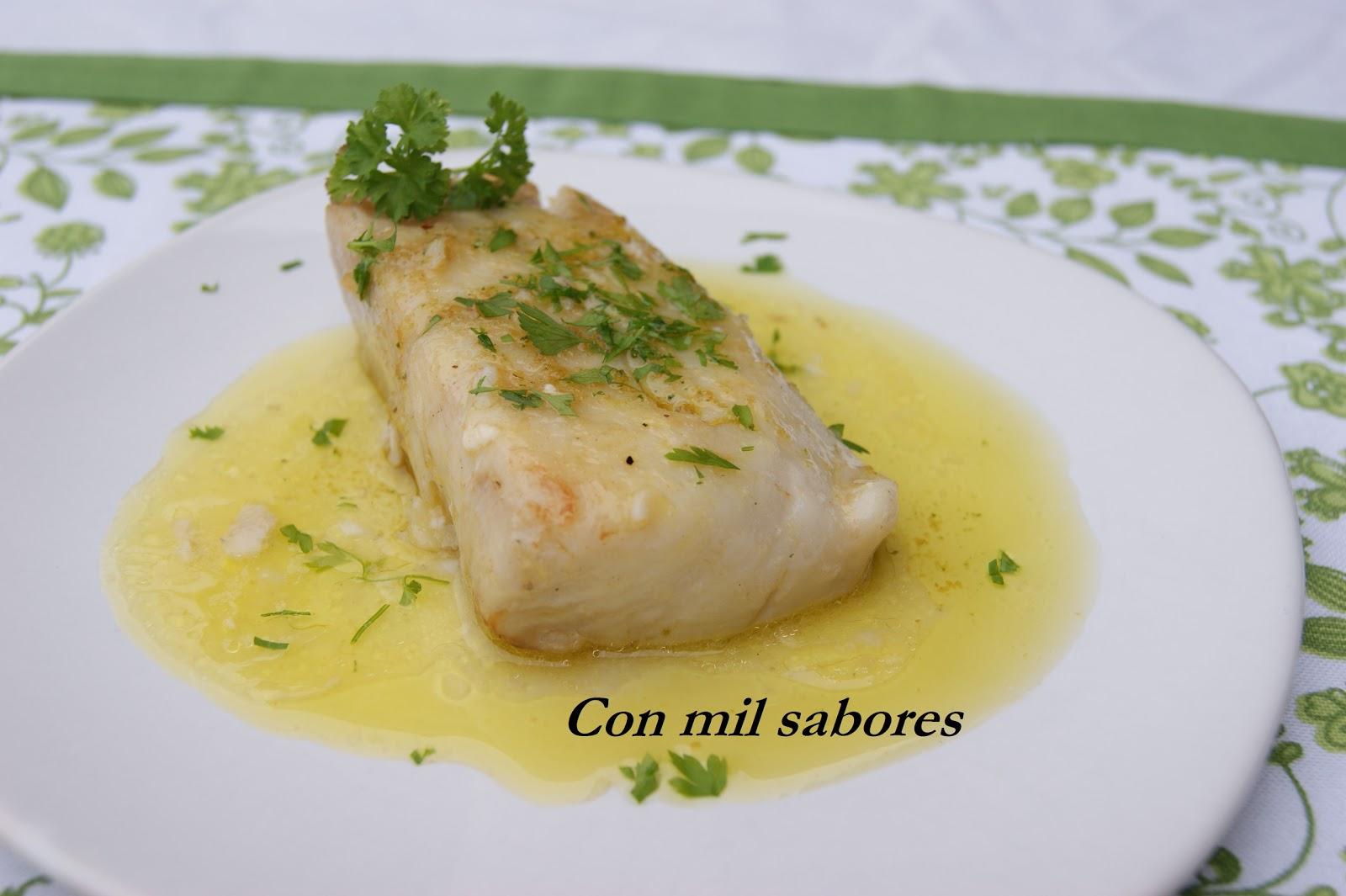 Con mil sabores lomos de merluza en salsa verde for Lomos de merluza en salsa verde