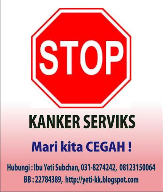 KK Indonesia Surabaya Sidoarjo Stop Kanker Serviks