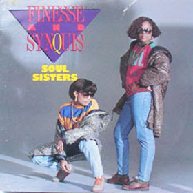 Finesse & Synquis – Soul Sisters / Soft But Deadly (1988, VLS, 320)