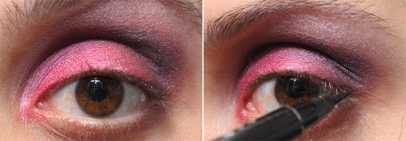 6 Tutorial de Maquiagem: Rosa e Roxo   Pink Gloss
