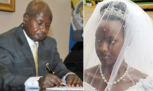 ugandan president daughter gay